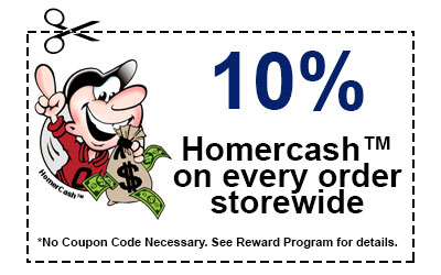 Earn 10% Homercash™