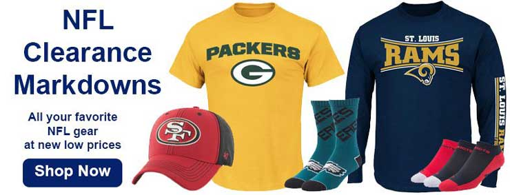 Shop NFL Clearance Items