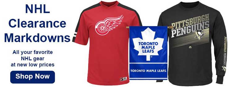 Shop NHL Clearance Merchandise