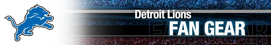 Detroit Lions Apparel and Team Fan Gear